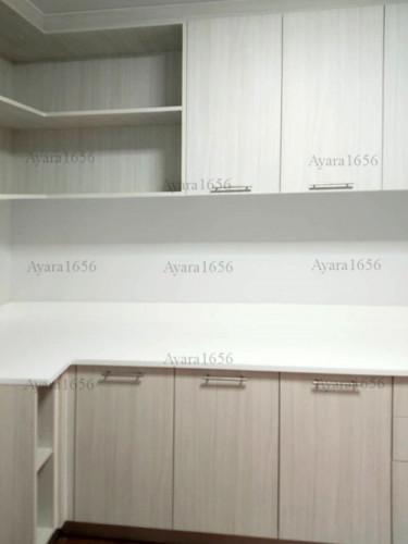 ชุดครัว Built-in โครงซีเมนต์บอร์ด หน้าบาน Melamine ES 5054-15