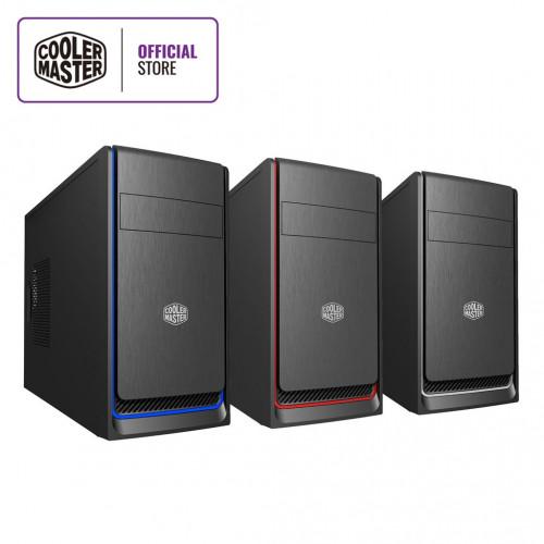 CASE COOLER MASTER BOX E300L/RED / SELVER / BLUE