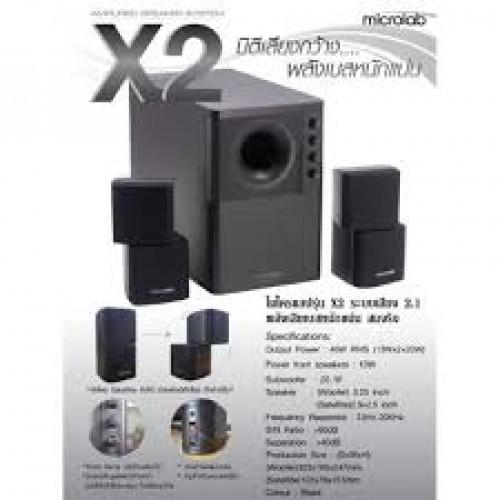 SPEAKER MICROLAB X2 2.1