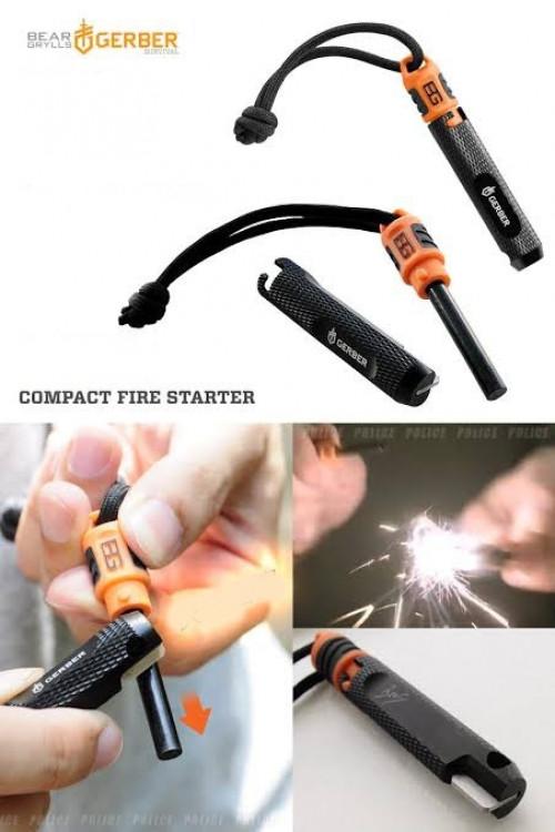 แท่งจุดไฟ Gerber Compact Fire Starter ( 31-002554 ) 1