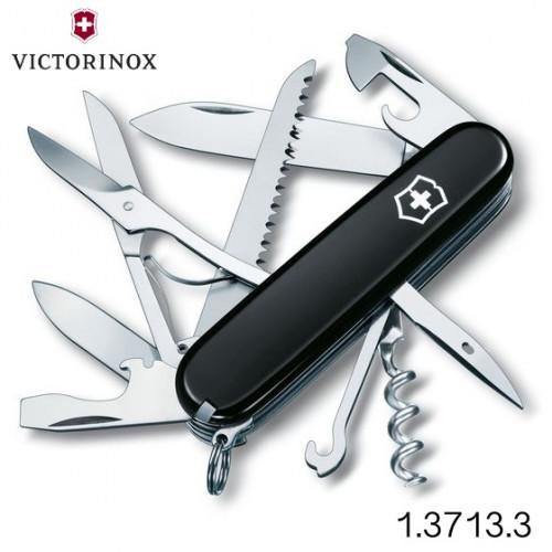 มีดพับเอนกประสงค์ Victorinox รุ่น Huntsman Black 1.3713.3