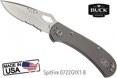 มีด BUCK SpitFire 0722GYX1-B