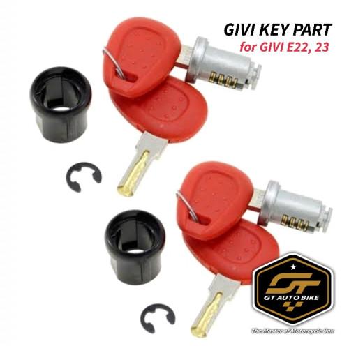 กุญแจล็อค สำหรับกล่องข้าง GIVI E22, E23