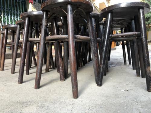 เก้าอี้กาแฟหัวโล้น ปี 1960 29.5*29.5*49 ซม. 1