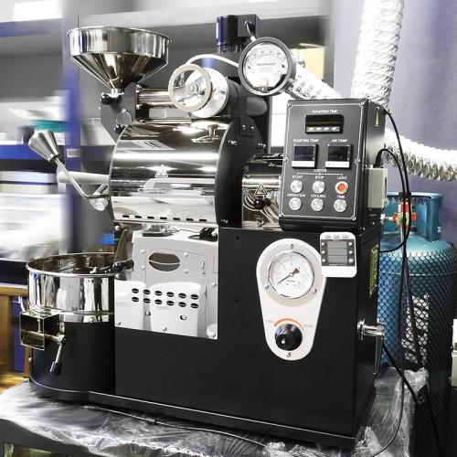 เครื่องคั่วกาแฟ 1 กิโลกรัม ระบบไฟฟ้า มีระบบเชื่อมต่อคอมพิวเตอร์เพื่อควบคุมการคั่ว 1614-111