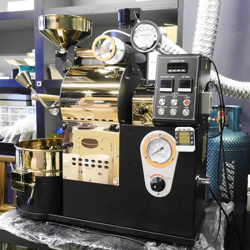 เครื่องคั่วกาแฟ 2 กิโลกรัม ระบบไฟฟ้า มีระบบเชื่อมต่อคอมพิวเตอร์เพื่อควบคุมการคั่ว 1614-115