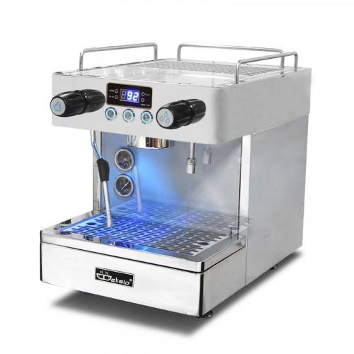 DELISIO เครื่องชงกาแฟเอสเปรสโซ่ 1 หัวกรุ๊ป 2500W.