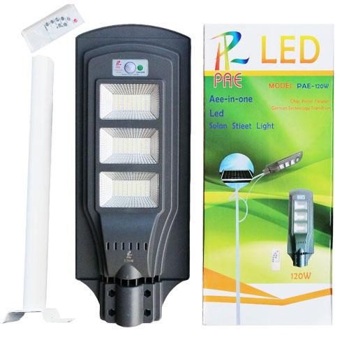 ไฟโซล่าเซลล์ 120W Solar Light LED