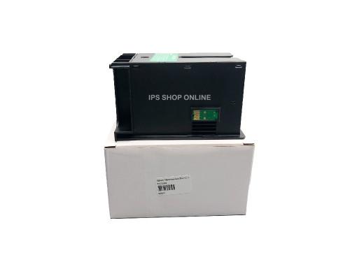 T6711 Maintenance Box กล่องซับหมึกเสีย (แบบใหม่เทียบเท่าพร้อมชิป) EPSON L1455, WF-3011/WF-3521/WF-71