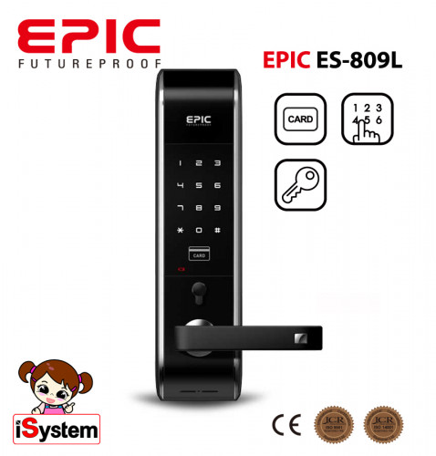 EPIC ES-809L Digital door lock ล๊อคอัตโนมัติจากประเทศเกาหลี