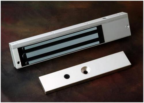 ALGATEC Magnetic UL275-SL EM Lock 600 Up to 600lbs 12v/24v ปรับเปลี่ยนกำลังไฟได้ พร้อม LZ Bracket