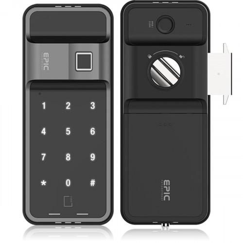 EPIC ES-F500H Digital door lock ล๊อคอัตโนมัติจากประเทศเกาหลี(สำหรับประตูบานเลื่อน)