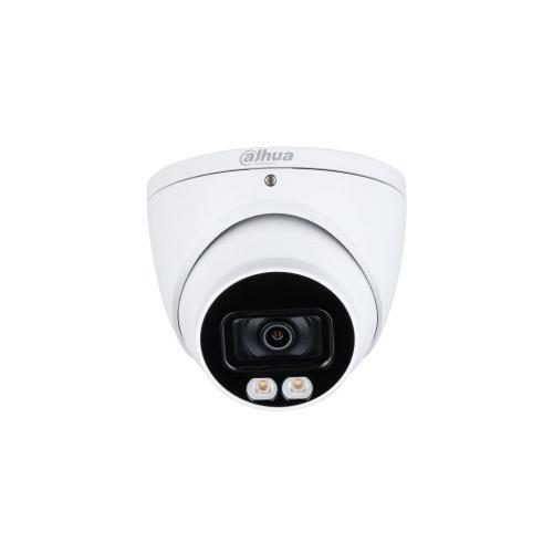 กล้องวงจรปิด Dahua HAC-HDW1239T-A-LED CCTV 2MP Mic.+Full-Color Star Light 40m.
