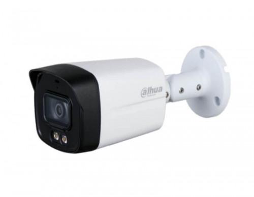 กล้องวงจรปิด Dahua HAC-HFW1239TLM-A-LED CCTV 2MP Mic.+Full-Color Star Light 40m.