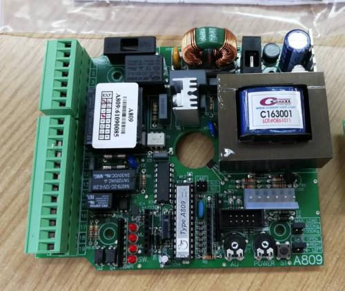 Type A809 ชุดบอร์ดควบคุม แบบมี 3 ความเร็ว และ ล็อค 2 ชั้น (Double Lock System)