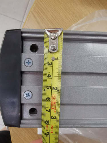 HIP CMB-2016 Swing Automatic Door (ก้านดึงเข้า-Inward Swing Pull Pole) 2