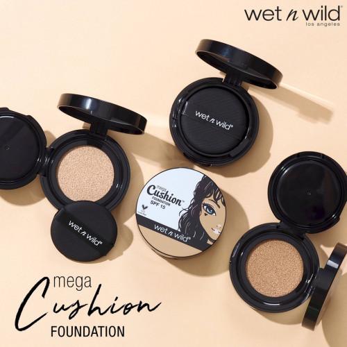 Wet n Wild Mega Cushion Foundation SPF15 - คุชชั่น (มีหลายเฉดสี)