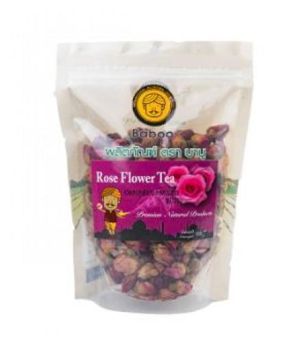 ชาดอกกุหลาบบาบู(100g)