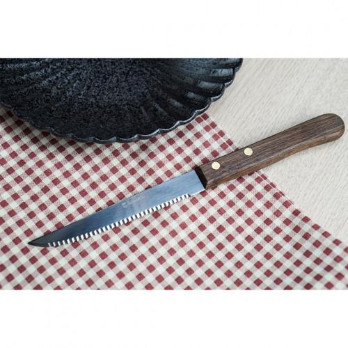 มีดสเต็ก ด้ามไม้