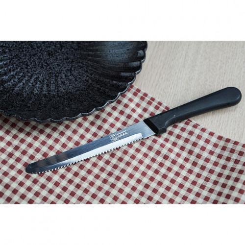 มีดสเต็ก ด้ามดำ