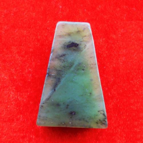 พระหินหยกแกะ พิมพ์พระผงสุพรรณ วัดธรรมมงคล สร้างโดยพระอาจารย์วิริยังค์ ปี 2536 สวยหายาก องค์ 27 1
