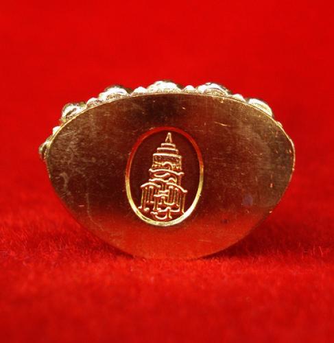 พระกริ่งที่ระลึก ญสส.รุ่นทรงประทาน 100 ปี สมเด็จพระสังฆราช เนื้อทองระฆัง  สวยน่าบูชามาก เลข 660 2