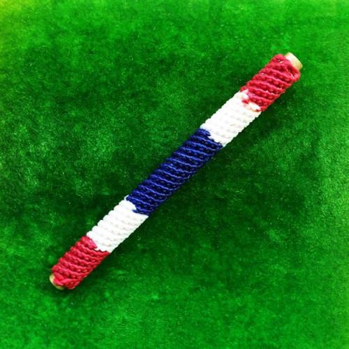 สุดยอดตะกรุดพระนเรศวรชนะศึก จารมือ เนื้อทองฝาบาตรถักเชือกลายธงชาติ รุ่นแรก รุ่นผู้ชนะที่หนึ่ง 2
