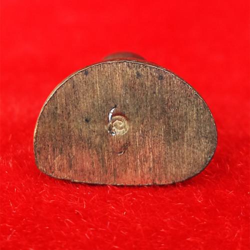 รูปหล่อหลวงพ่อเงิน รุ่นมงคลเกษม 60 พรรษา เนื้อนวโลหะ พิมพ์ใหญ่ หลวงพ่อเกษม เขมโก อธิษฐานจิต ปี 2536 2