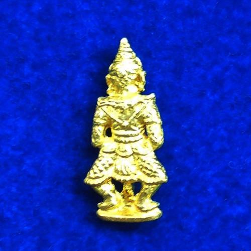 ท้าวเวสสุวรรณ(ท้าวเวสสุวัณ) รุ่นเสาร์ ๕ เนื้อทองทิพย์ องค์เล็ก พระเครื่อง วัดสุทัศนฯ ปี 2555 1