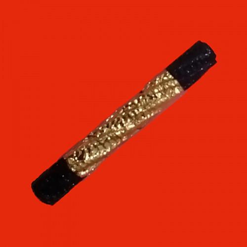 ตะกรุดดำ ยาว 3 นิ้ว หลวงพ่อจำลอง วัดเจดีย์แดง อยุธยา ใส่หลอดพร้อมใช้ พุทธคุณสูง หายาก 2