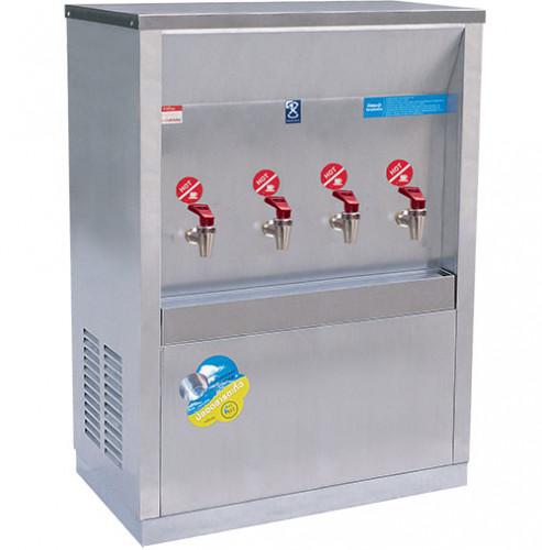 MAXCOOL ตู้ทำน้ำร้อน 4 หัวก๊อก แบบท่อ MH-4P สแตนเลส