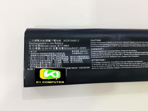 MSI GE62 GE72 GE75 GP62 GP72  BTY-M6H Battery 2