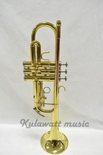 C key trumpet ยี่ห้อ ChenSons รุ่น CTR-245L ของใหม่แกะกล่อง พร้อมอุปกรณ์ครบชุด เสียงดีจริงๆ