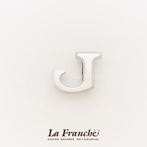 หัวเข็มขัดสแตนเลส อักษร J (เฉพาะหัว)