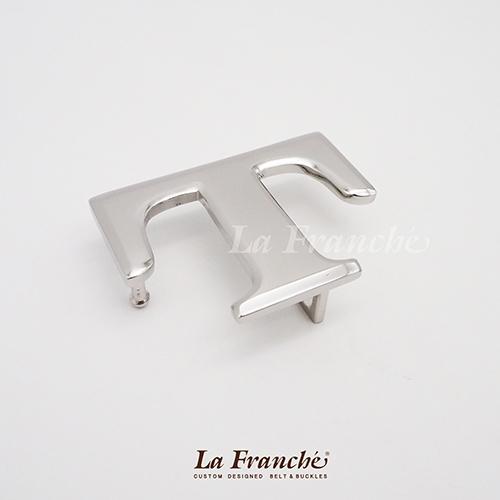 หัวเข็มขัดสแตนเลส อักษร T (เฉพาะหัว) 1