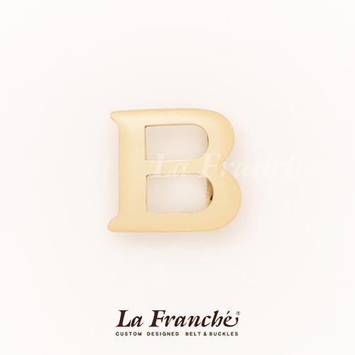 หัวเข็มขัดทองเหลือง อักษร B (เฉพาะหัว)