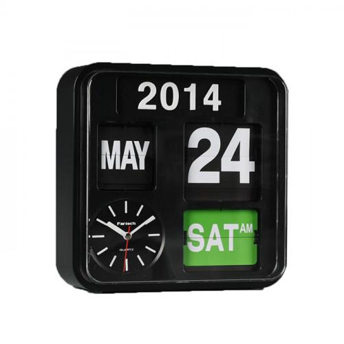 นาฬิกาพร้อมกับปฎิทินแบบแผ่นพับ (Calendar Wall Clock) AD-650