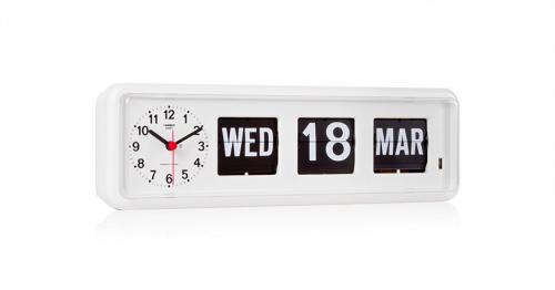 นาฬิกาตั้งโต๊ะหรือแขวนผนังพร้อมปฏิทินแบบแผ่นพับ TWEMCO BQ-38