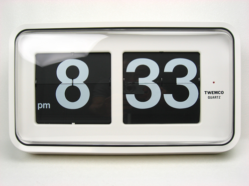 นาฬิกาแขวนผนังระบบแผ่นพับตัวเลข TWEMCO Series 100