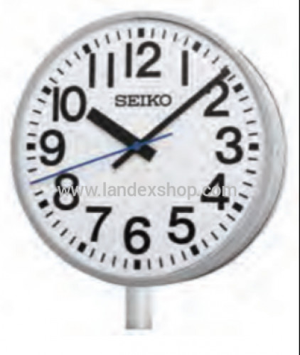 NTP Secondary Clock (Analogue Outdoor) Double-faced / Suspended type & wall bracket type & Pole type