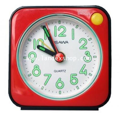 นาฬิกาปลุกตั้งโต๊ะเสียงกระดิ่ง OSAWA Bell Alarm Clock OS-01