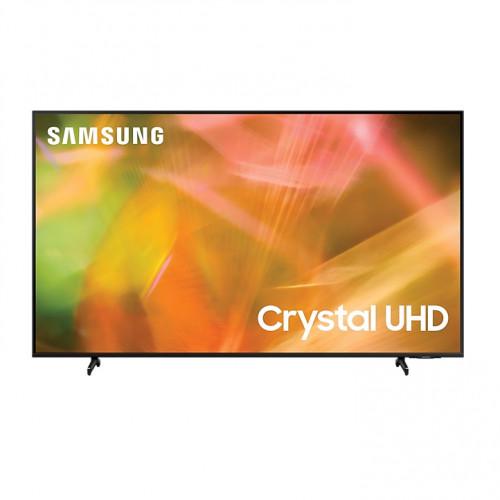 SAMSUNG 43 นิ้ว รุ่น UA43AU8100KXXT AU8100 Crystal UHD 4K Smart TV (2021) 43AU8100