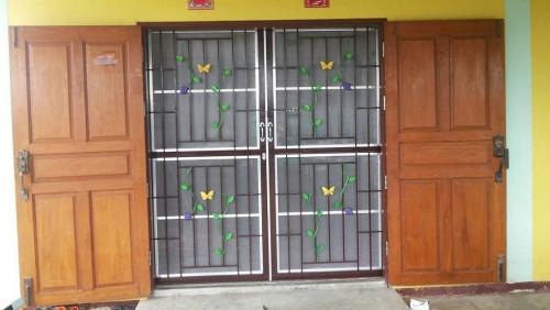 ประตูมุ้งลวด No.AM-12