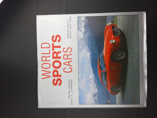 World Sports Cars 1945-1980 by Frank Oleski (1989-06-04) Hardcover – January 1, 1802
