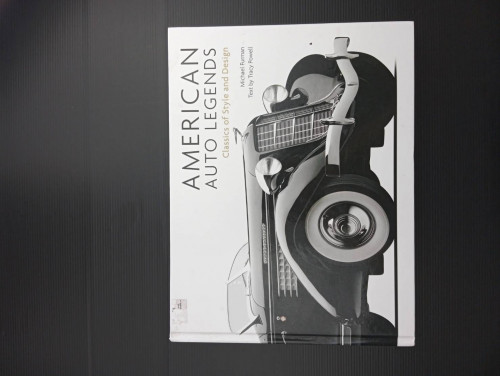 American Auto Legends: Classics of Style and Design Hardcover – August 15, 2013