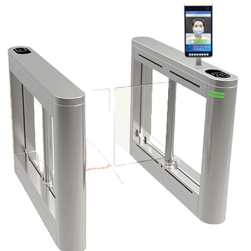 ประตูอัตโนมัติ รุ่น TS-TB306-O+FT:Swing Gate + Face temp