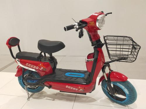 มอเตอร์ไซค์-จักรยานไฟฟ้า มีไฟเลี้ยว ราคาประหยัด ดีไซน์สวย รุ่น sh-1