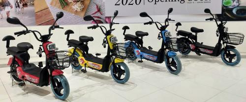 มอเตอร์ไซค์-จักรยานไฟฟ้า  ดีไซน์สวย รุ่น shung จอ Table