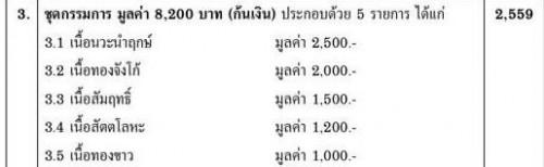 ชุดกรรมการ พระกริ่งธงชัยดอยสุเทพ รุ่นเจ้าสัวล้านนา วัดพระธาตุดอยสุเทพ 2559 1
