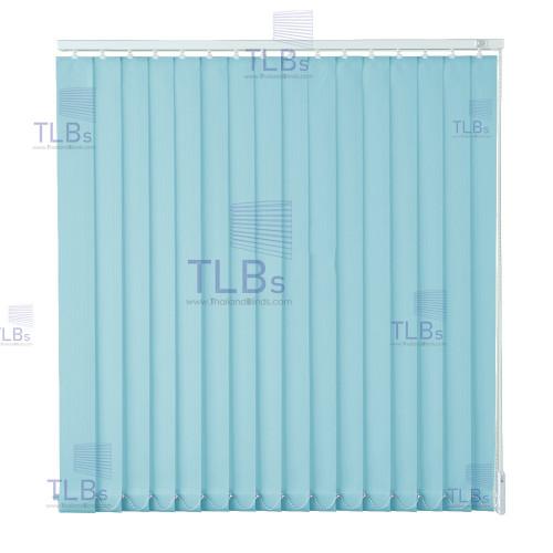 ม่านปรับแสง TLBs โปร่งแสง (เชือกปรับ) ขนาดใบ 8.9 ซม.ผ้า B8612